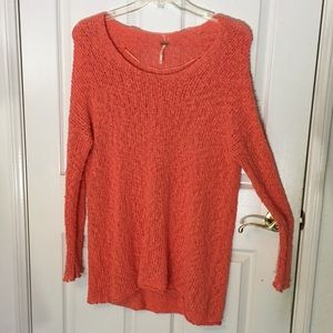 FP Coral Loose Knit Tunic 🍊🍋🍉 OFFERS WELCOME